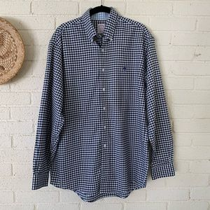 Brooks Brothers Gingham Check Button Down